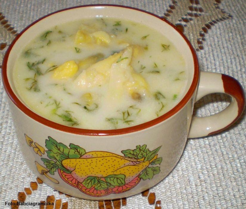 Zupa szparagowa :