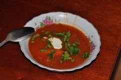 Zupa pomidorowa pyszna i gęsta