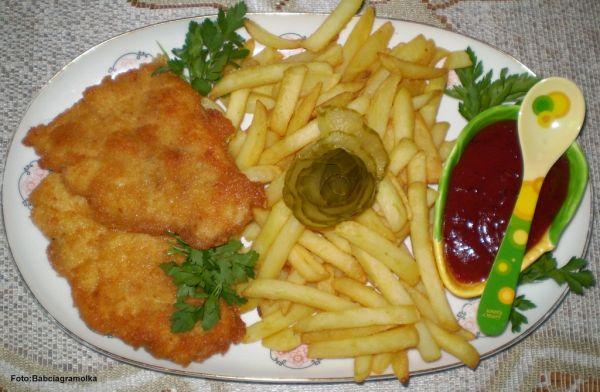 Sos żurawinowo-ketchupowo-powidłowy do frytek ( i nie tylko ) :