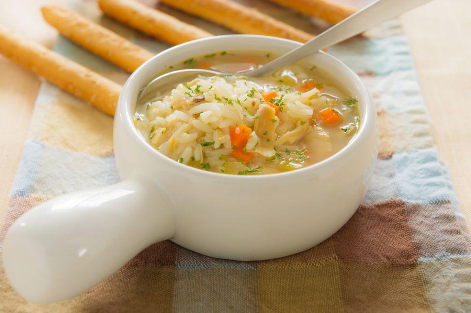 Zupa z kurczaka z warzywami