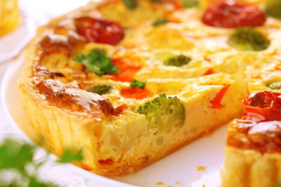 Quiche (kisz) warzywny