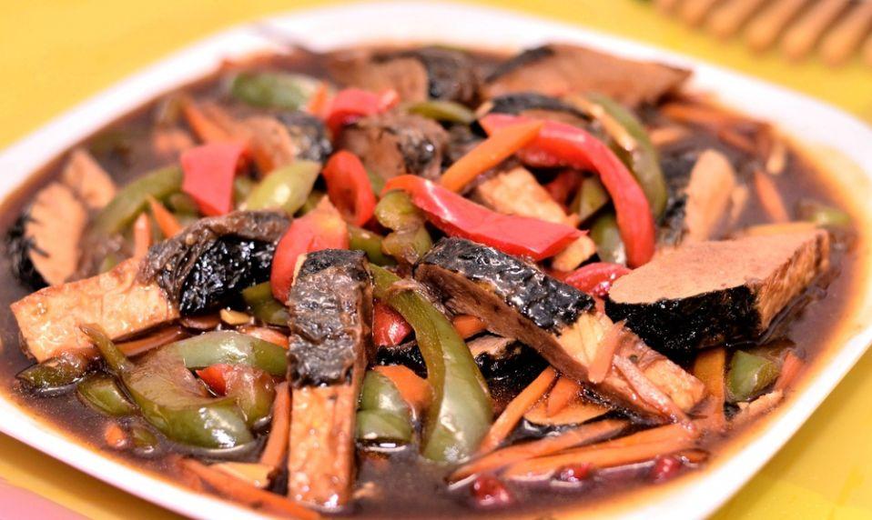 Ryba w sosie słodko-kwaśnym