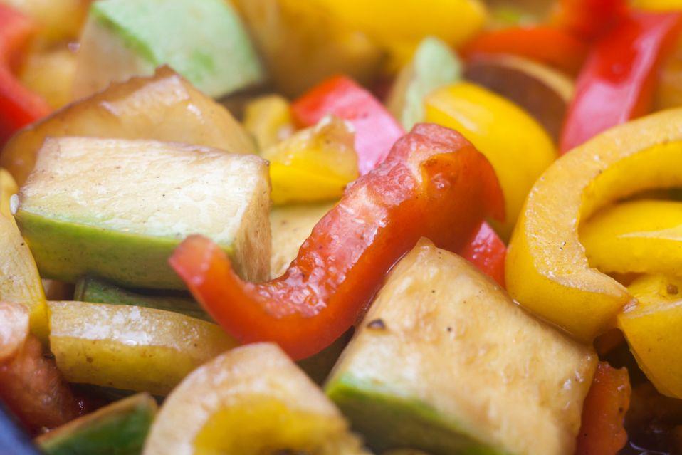 Wołowina duszona z warzywami