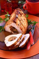 Faszerowany filet z piersi indyka