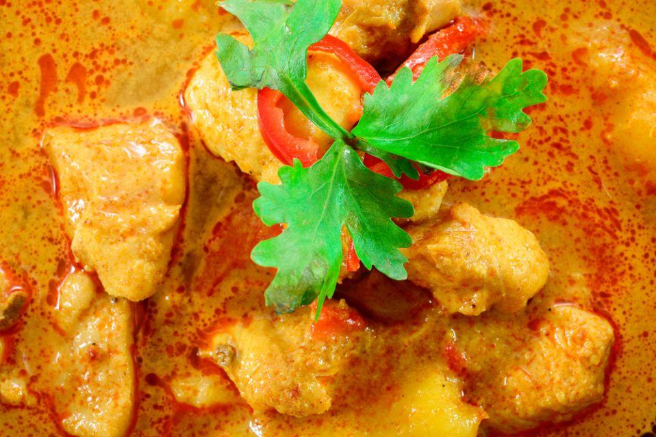 Kurczak W Indyjskim Sosie Curry