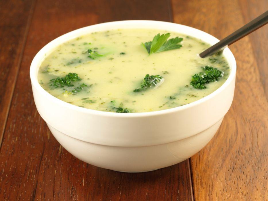 Wloska Zupa Brokulowa