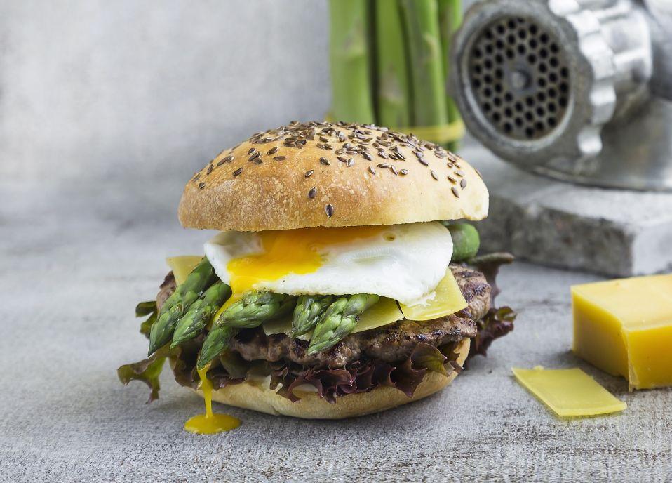 Uniwersalne bulki hamburgerowe