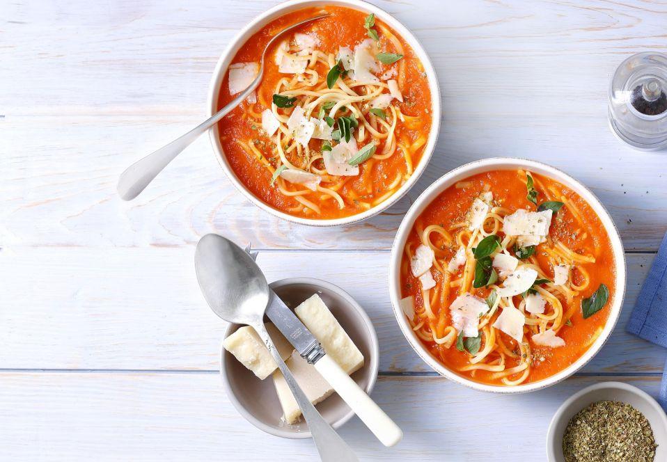 Pomarańczowa zupa pomidorowo-paprykowa