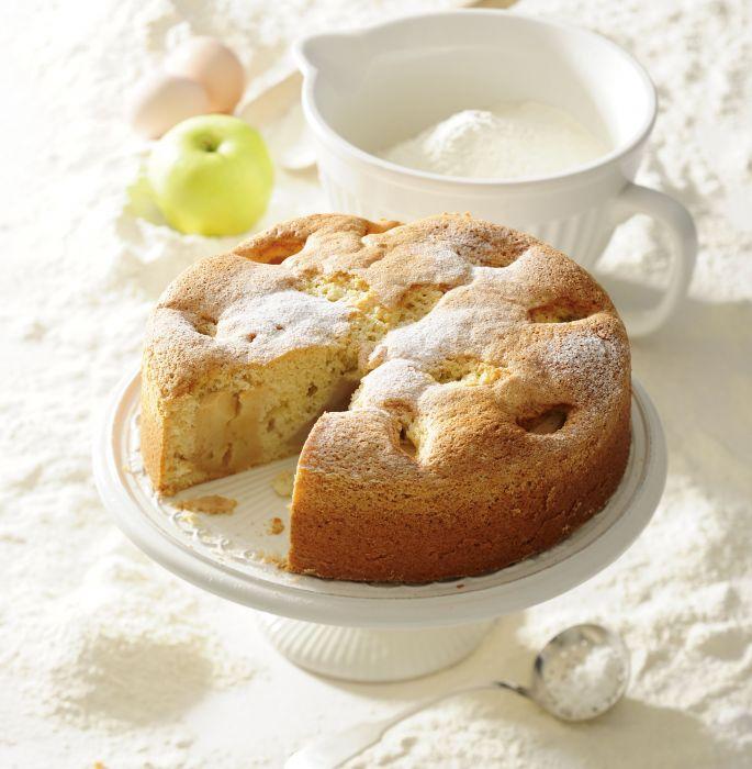 Ciasto Ucierane Z Jablkami Przepis Na Ciasto Ucierane Z Jablkami