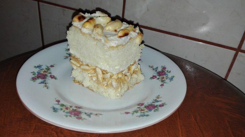 Ciasto Bialy Lion Przepis Na Ciasto Bialy Lion Mojegotowanie Pl