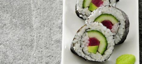 Sushi maki z ogórkiem