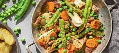Jagnięcina z warzywami